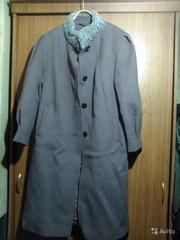 пальто шерстяное зимнее новое